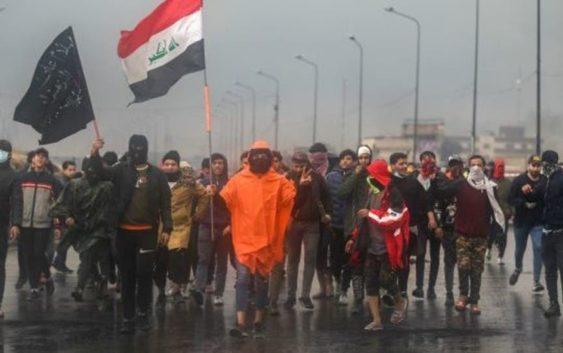 قتيل و5 جرحى في هجوم ميليشيات على متظاهرين بالبصرة