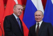 Photo of أردوغان وبوتين يبحثان التطورات في ليبيا وإدلب السورية