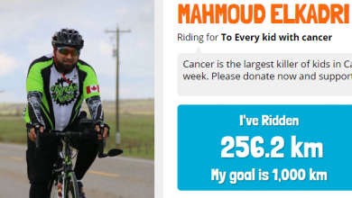 صورة وندسور : مدير الـ RCIC يقطع 1000 كيلو متر لإنقاذ الأطفال مرضى السرطان .