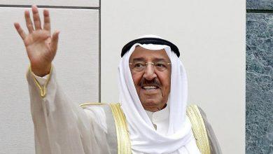 صورة أمير الإنسانية الشيخ صباح الأحمد .. في ذمة الله
