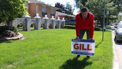 """صورة وندسور : فوز """"جيوين جيل"""" و خسارة المرشحة من أصل عربي في الانتخابات الفرعية ."""