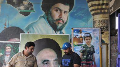 صورة عين الصدر على رئاسة الحكومة.. وموجة انتقاد عراقية