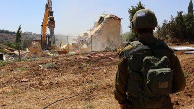 صورة الاحتلال الإسرائيلي يهدم 5 مساكن في الخليل