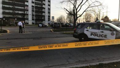 صورة مقتل صبي ( 12 عاما ) بعد إطلاق النار عليه في  تورنتو !!
