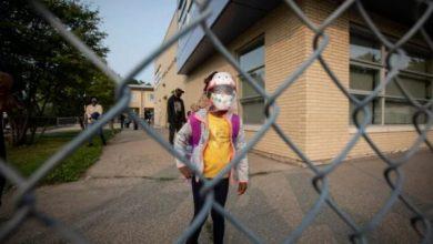صورة إعلان تفشي الوباء في إحدى مدارس ويندسور !