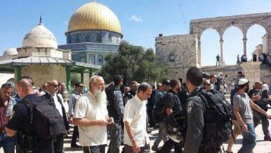 صورة للجمعة الثانية.. الاحتلال يمنع فلسطينيين من الصلاة بالأقصى