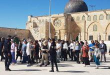 صورة مخططات إسرائيلية تستهدف المسجد الأقصى