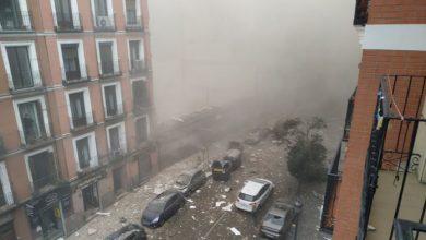 صورة بالفيديو- المشاهد الأولية لإنفجار مدريد