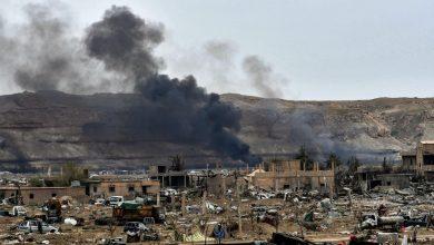 صورة الحرس الثوري تحت نيران مجهولة في دير الزور