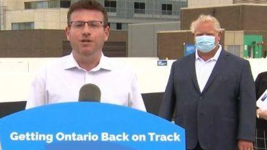صورة أونتاريو : طرد نائب و ممرضة عارضا قرار الإغلاق !