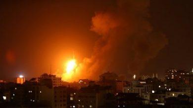 صورة الاحتلال الإسرائيلي يقصف عدة مواقع في قطاع غزة