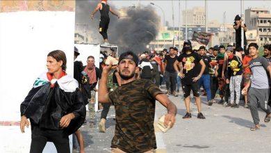 صورة العراق.. إصابة 3 متظاهرين باحتجاجات في الناصرية