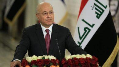 صورة الرئيس العراقي: لا يمكن بناء الجيش دون ضبط السلاح المنفلت