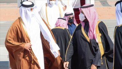 صورة أول لقاء معلن بين مسؤولين سعودي وقطري بعد المصالحة