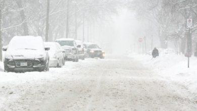 صورة وزارة البيئة تحذر من عاصفة ثلجية قادمة !