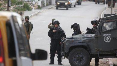 صورة مواجهات بين فلسطينيين وقوات الاحتلال في مخيم نور شمس بطولكرم