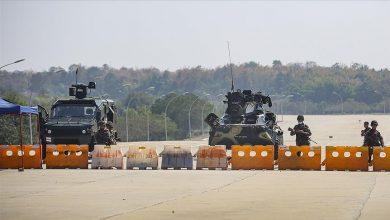 صورة تفجير يستهدف رتلا للتحالف جنوبي العراق