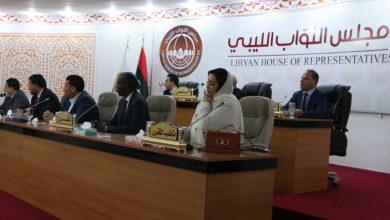 صورة حكومة ليبية جديدة تؤدي اليمين أمام مجلس النواب