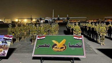 """صورة انطلاق مناورات """"حماة النيل"""" العسكرية مع مصر"""