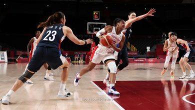 صورة كندا تتصدر مجموعتها في كرة السلة للسيدات