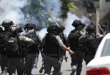 """صورة أحدهم حالته """"حرجة"""".. الإحتلال يصيب 12 فلسطينيا جنوبي الضفة"""