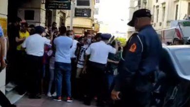صورة مقتل مستوطن إسرائيلي طعنا بسكين في المغرب