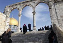 صورة فلسطينيون يحيون رأس السنة الهجرية في المسجد الأقصى