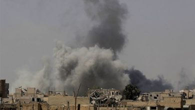 صورة غارات تستهدف ميليشيات إيران على حدود سوريا والعراق