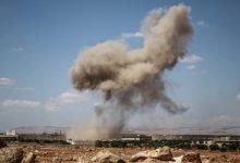 صورة مقتل شخص بغارات روسية جنوب إدلب