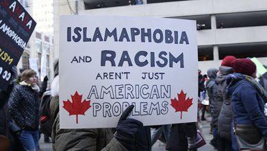 صورة الإسلاموفوبيا مجددا ، رسالة تهديد مخيفة لمسجد و التعدي على مرشحة مسلمة !