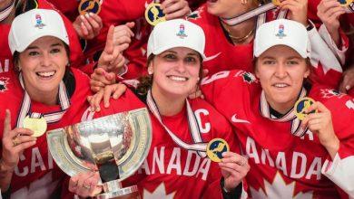 صورة كندا تنتزع لقب بطولة العالم لهوكي الجليد للسيدات
