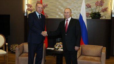 صورة أردوغان: السلام في سوريا مرتبط بالعلاقات بين تركيا وروسيا