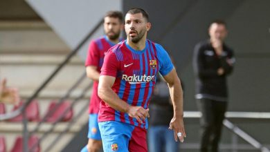 صورة برشلونة ينتظر مشاركة أغويرو الأولى