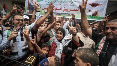 صورة بعد غياب 6 سنوات…نسرين أبو كميل تلتقي أسرتها بغزة