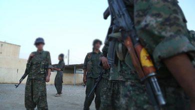 """صورة اشتباكات بين """"ي ب ك"""" الإرهابي والأهالي بالحسكة السورية"""