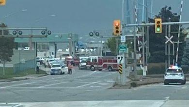 صورة الشرطة تكشف سر متفجرات جسر وندسور ديترويت !